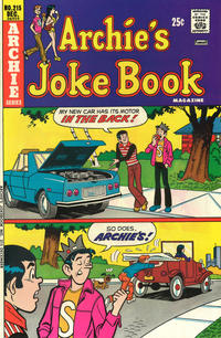 Cover Thumbnail for Archie's Joke Book Magazine (Archie, 1953 series) #215