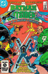 Cover Thumbnail for Batman and the Outsiders (DC, 1983 series) #10 [Direct]