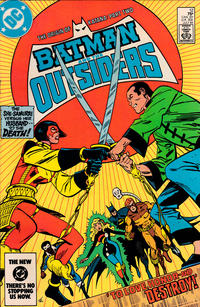 Cover Thumbnail for Batman and the Outsiders (DC, 1983 series) #12 [Direct]