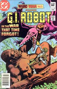 Cover Thumbnail for Weird War Tales (DC, 1971 series) #120 [Newsstand]