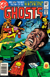 Cover Thumbnail for Ghosts (DC, 1971 series) #110 [Newsstand]
