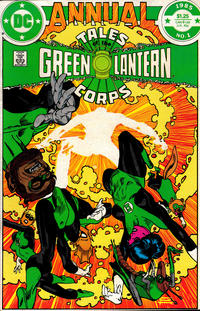 Cover Thumbnail for Tales of the Green Lantern Corps Annual (DC, 1985 series) #1 [Direct Sales]