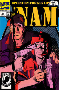 Cover Thumbnail for The 'Nam (Marvel, 1986 series) #72 [Direct]