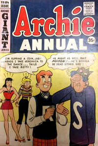 Cover Thumbnail for Archie Annual (Archie, 1950 series) #11 [Canadian]