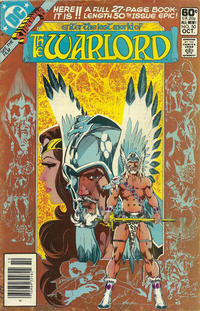 Cover for Warlord (DC, 1976 series) #50 [direct]