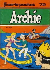 Cover Thumbnail for Serie-pocket (Semic, 1977 series) #72