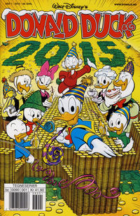 Cover Thumbnail for Donald Duck & Co (Hjemmet / Egmont, 1948 series) #1/2015