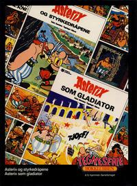 Cover Thumbnail for Tegneseriebokklubben (Hjemmet / Egmont, 1985 series) #[2] - Asterix og styrkedråpene; Asterix som gladiator