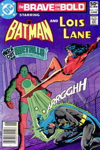 Cover for The Brave and the Bold (DC, 1955 series) #175 [Direct]