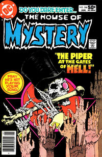 Cover Thumbnail for House of Mystery (DC, 1951 series) #288 [Newsstand]
