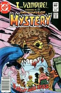 Cover Thumbnail for House of Mystery (DC, 1951 series) #304 [Newsstand]