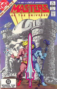 Cover Thumbnail for Masters of the Universe (DC, 1982 series) #2 [Direct Sales Variant]