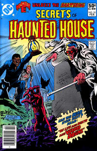 Cover Thumbnail for Secrets of Haunted House (DC, 1975 series) #33 [Newsstand]