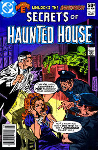 Cover Thumbnail for Secrets of Haunted House (DC, 1975 series) #34 [Newsstand]
