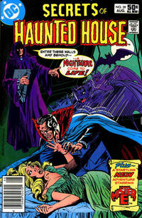 Cover Thumbnail for Secrets of Haunted House (DC, 1975 series) #39 [Newsstand]