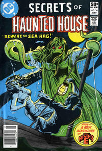 Cover Thumbnail for Secrets of Haunted House (DC, 1975 series) #36 [Newsstand]