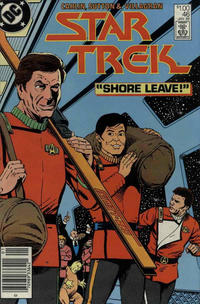 Cover Thumbnail for Star Trek (DC, 1984 series) #46 [Canadian]