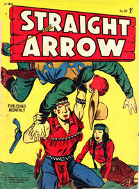 Cover for Straight Arrow Comics (Magazine Management, 1955 series) #39