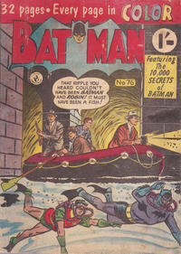 Cover Thumbnail for Batman (K. G. Murray, 1950 series) #76
