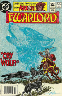 Cover for Warlord (DC, 1976 series) #62 [Direct Sales]