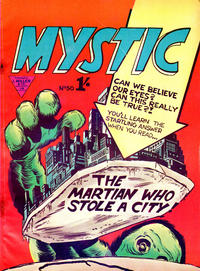 Cover Thumbnail for Mystic (L. Miller & Son, 1960 series) #50