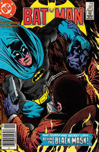 Cover for Batman (DC, 1940 series) #387 [Direct Sales]