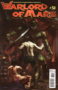 Cover for Warlord of Mars (Dynamite Entertainment, 2010 series) #31 [Cover B Lucio Parrillo]