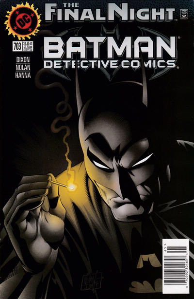 Cover for Detective Comics (DC, 1937 series) #703