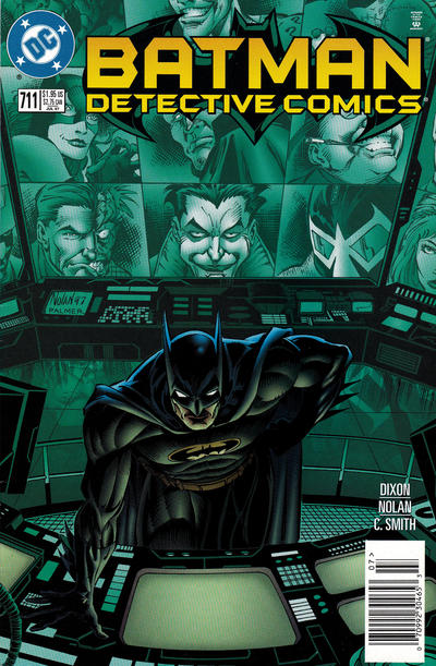 Cover for Detective Comics (DC, 1937 series) #711