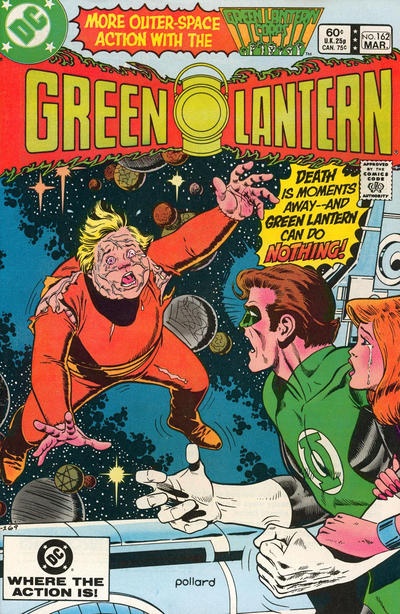 Cover for Green Lantern (DC, 1960 series) #162 [Newsstand]