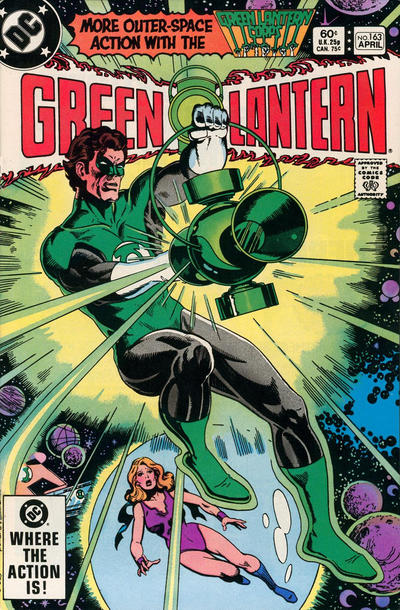 Cover for Green Lantern (DC, 1960 series) #163 [Direct]