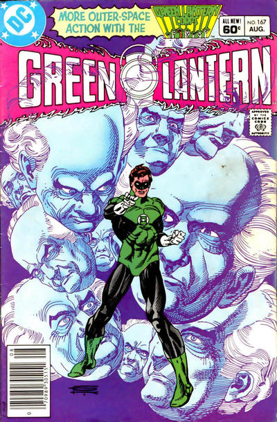 Cover for Green Lantern (DC, 1960 series) #167 [Direct-Sales]