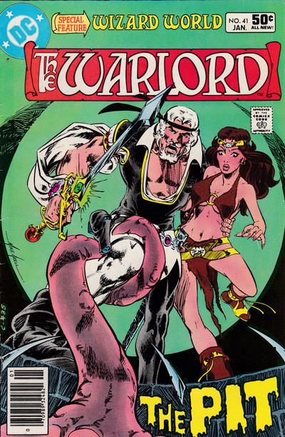 Cover for Warlord (DC, 1976 series) #41 [Direct Sales]
