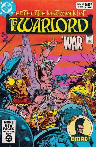 Cover for Warlord (DC, 1976 series) #42 [Direct Sales]