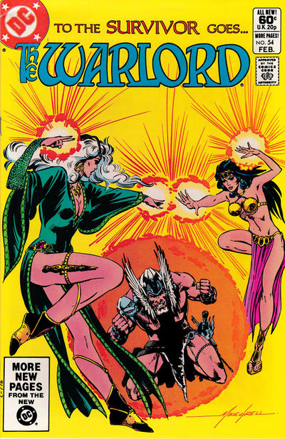Cover for Warlord (DC, 1976 series) #54 [Direct Sales]