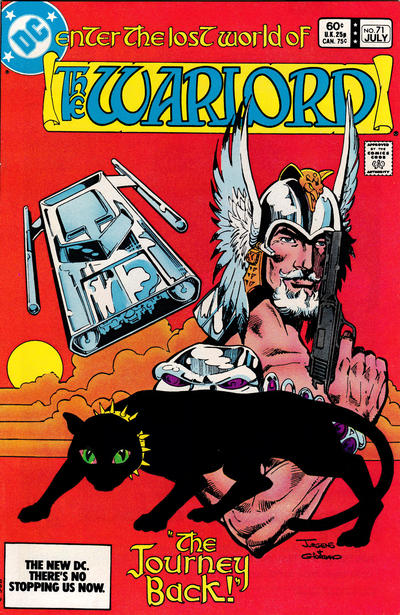 Cover for Warlord (DC, 1976 series) #71 [Direct-Sales]