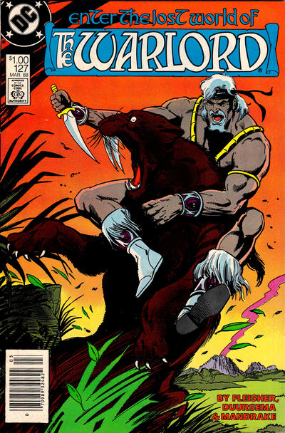 Cover for Warlord (DC, 1976 series) #127 [direct]