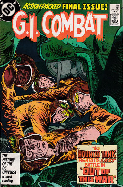 Cover for G.I. Combat (DC, 1957 series) #288 [Direct Sales]