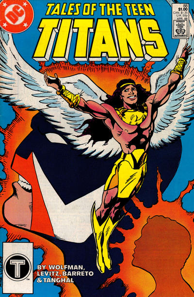 Cover for Tales of the Teen Titans (DC, 1984 series) #88 [Direct Sales Variant]