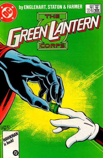 Cover for Green Lantern (DC, 1976 series) #203 [Direct Edition]