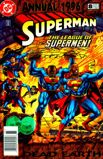 Cover for Superman Annual (DC, 1987 series) #8