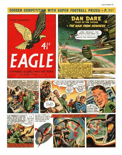 Cover for Eagle (Hulton Press, 1950 series) #v6#46