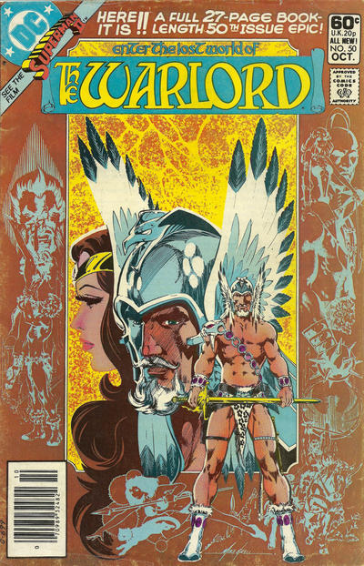 Cover for Warlord (DC, 1976 series) #50 [Direct Sales]
