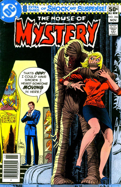 Cover for House of Mystery (DC, 1951 series) #286 [Direct Sales]