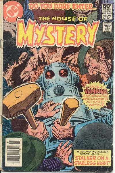 Cover for House of Mystery (DC, 1951 series) #298 [Direct Sales]