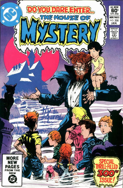 Cover for House of Mystery (DC, 1951 series) #300 [Direct]