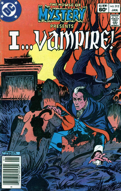 Cover for House of Mystery (DC, 1951 series) #312 [Direct]