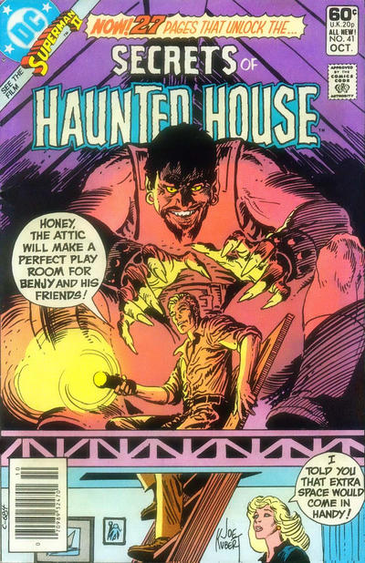 Cover for Secrets of Haunted House (DC, 1975 series) #41 [Direct Sales]