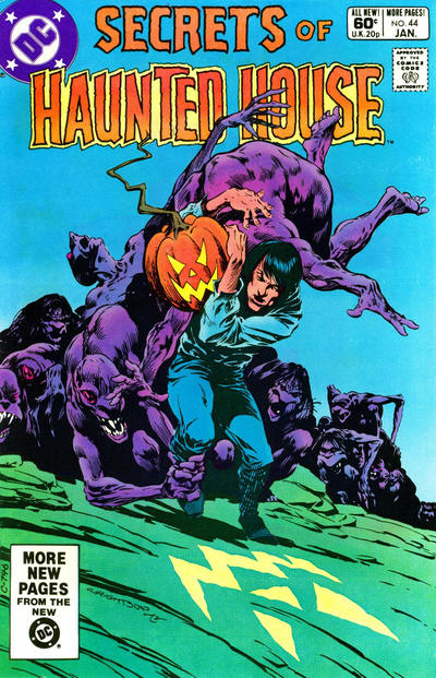 Cover for Secrets of Haunted House (DC, 1975 series) #44 [Direct]