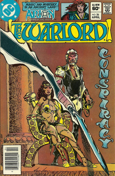 Cover for Warlord (DC, 1976 series) #56 [Direct Sales]
